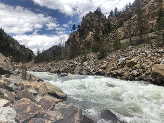 Rafting Down Clear Creek