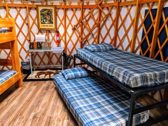 Bunk Beds -Yurt