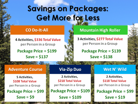 Save on Outdoor Activities