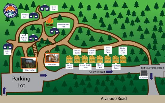 2020 Lodging Map