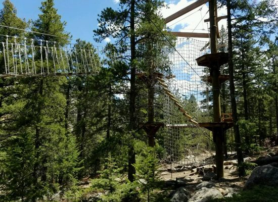 Challenge Course View