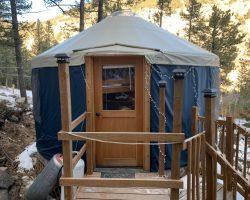 Gray's Yurt