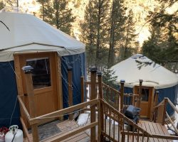 Connected Yurts