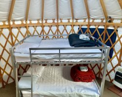 Bunk Beds in Yurt
