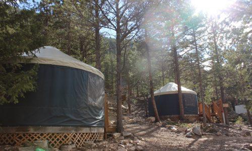 Yurts at the Park