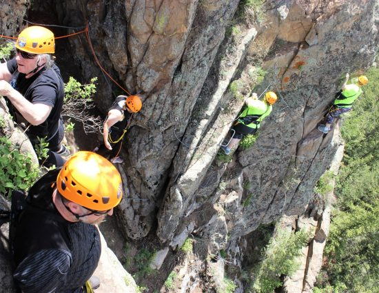 Rock Climbing the Via Ferrata