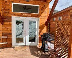 Iron Horse Cabin Outside