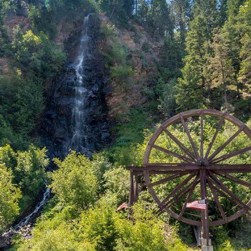 Bridal Veil Falls Idaho Springs