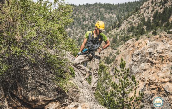 climbing the via